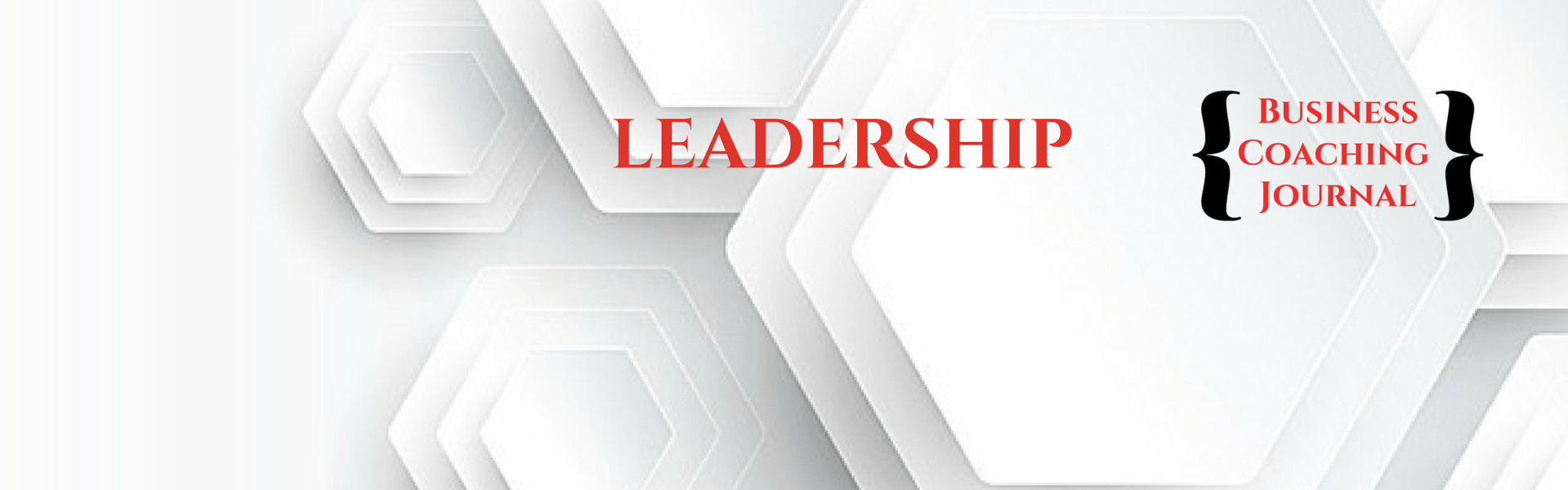 Leadership Articles Business Coaching Journal