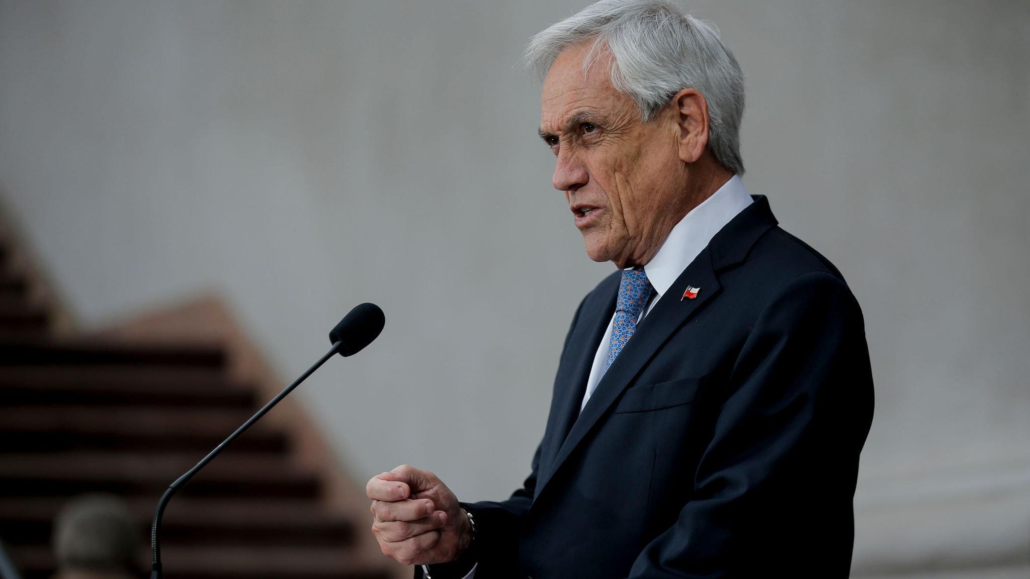 President Sebastian Pinera