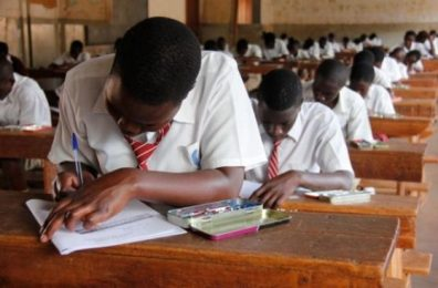 Image result for nigerian students separated in an examination hall