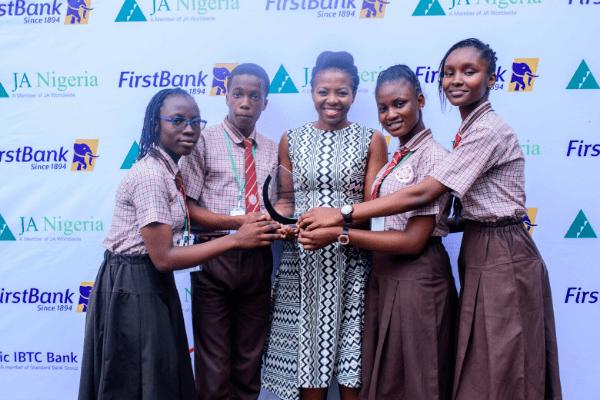 Junior Achievement Nigeria Schools Win Awards for Innovation -
