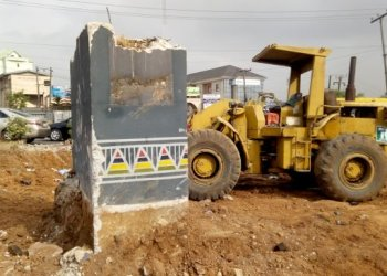 What to expect from remodeling of Allen-Awolowo Way Roundabout