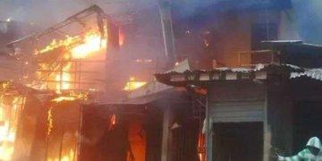 Pipeline explosion rocks Abule Egba