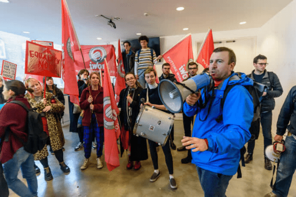The upstart unions taking on the gig economy and outsourcing