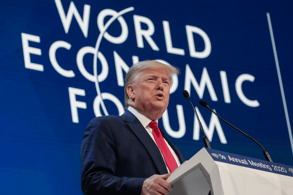 Trump urges Davos to reject environmental alarmists - Businessday NG