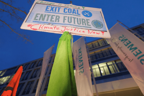 Siemens offers cautionary tale on responding to climate activists -