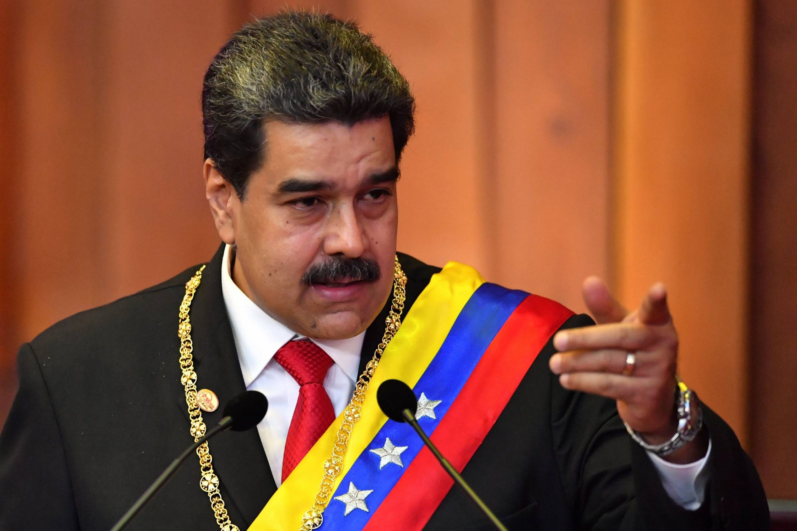 "The U.s. Accusation Against Venezuelan President Nicolas Maduro Is The Latest Attempt To Intervene In The Country's Affairs And Instigate Regime Change, Iranian Foreign Ministry Spokesman Abbas Mousavi Said On Friday. ""no Provision In International Law Allows The United States, Abusing"
