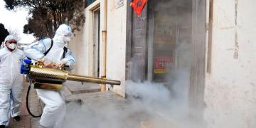 Coronavirus: Agboyi-ketu LCDA fumigates streets - Businessday NG