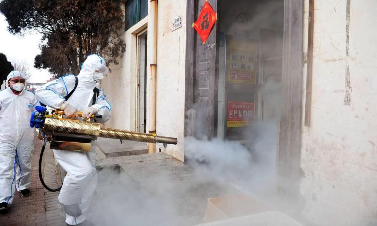 Coronavirus: Ikeja embarks on mass disinfection of public spaces - Businessday NG