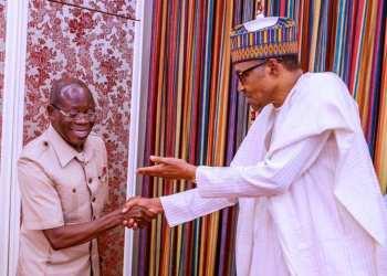 Buhari felicitate with Oshiomhole at 68 - Businessday NG