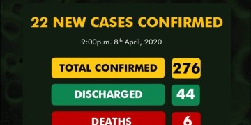 Nigeria records 22 new cases of Coronavirus, total cases hits 276 - Businessday NG