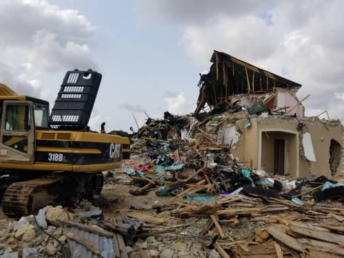 Silverpoint estate demolition: family alleges LASG plans to divert land for private use - Businessday NG