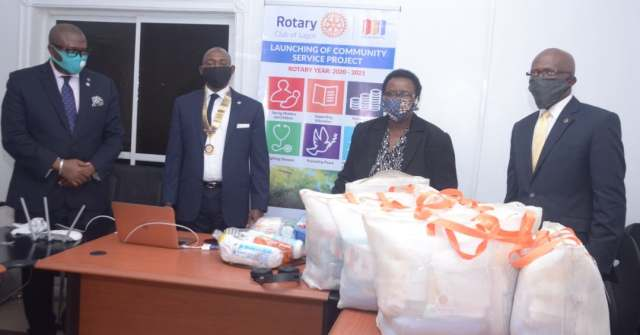 CSR: Rotary Club of Lagos donates birth delivery kits to Itamarun Health Centre - Businessday NG