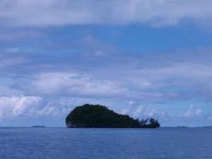 パラオのクジラ島