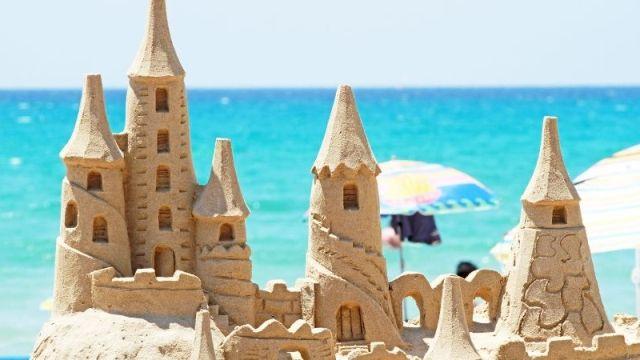 砂上の楼閣