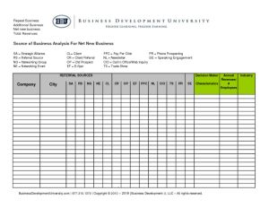 thumbnail of BDU Business Breakdown and Source of Business Analysis