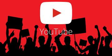 youtube crowd uproar protest ss 19201920 - YouTube opens channels of affiliation to more creators and deploys new revenue opportunities