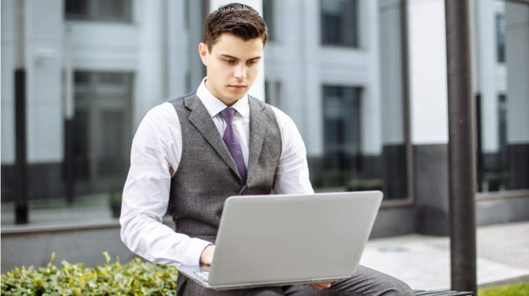 with laptop - The Best New Business Laptops For Less Than $ 500