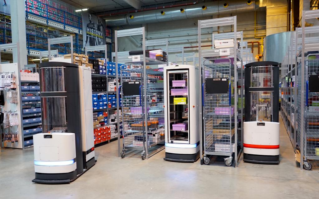 1519754943 147 the robo logistics company magazino raises 25 million for its warehouse bots - The robo-logistics company Magazino raises $ 25 million for its warehouse bots