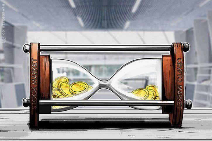 725 Ly9jb2ludGVsZWdyYXBoLmNvbS9zdG9yYWdlL3VwbG9hZHMvdmlldy85ZjQ0ZDcxZTRmYjM0MTA3NTBiNzdmZmMxZDQxOWFmMy5qcGc= - So, is there a correlation between Bitcoin and the stock market? Yes, but no