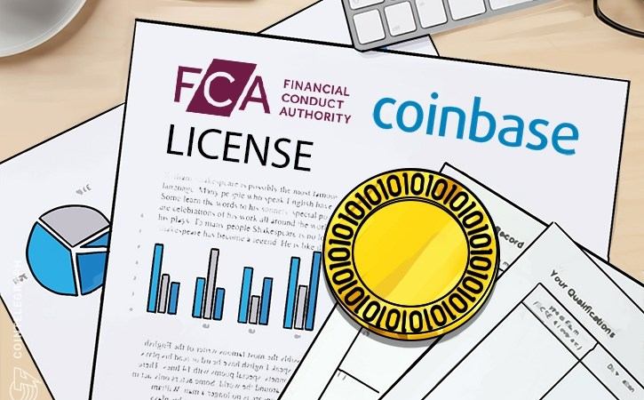 """Coinbase receives an electronic money license for the UK's Fiat business, its """"largest market"""""""
