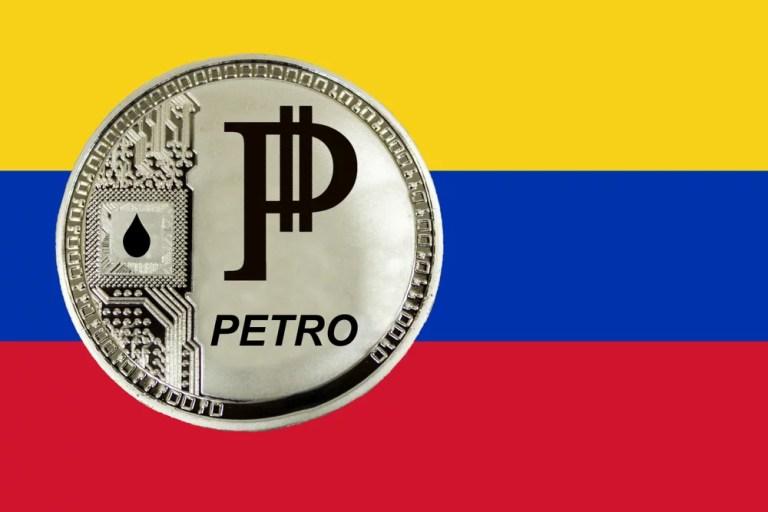 Petro flag - Venezuelan cryptocurrency Petro receives the Satoshi Nakamoto Prize in Russia