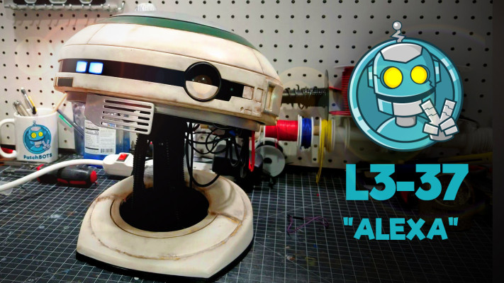 build your own l3 37 droid with voice interaction - Build your own L3-37 droid with voice interaction