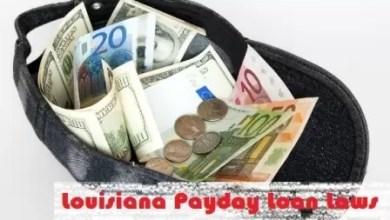 Louisiana Payday Loan Laws