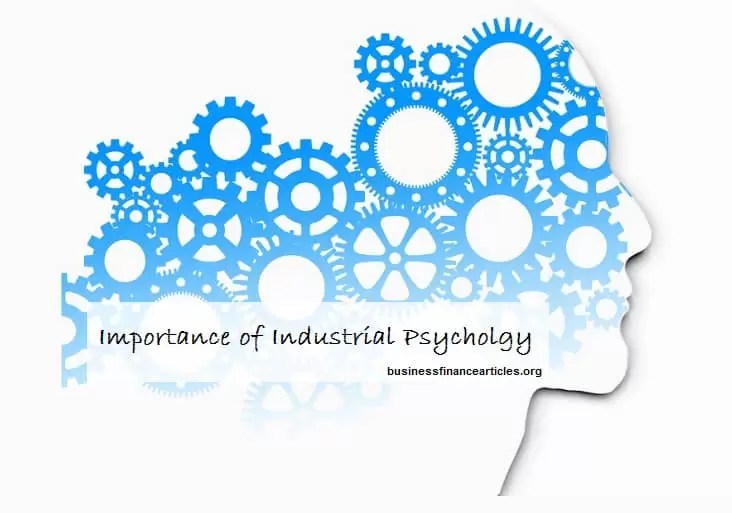 importance of industrial psychology