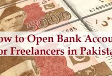 bank account for freelancers in pakistan