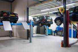 在阿联酋出售的汽车车库