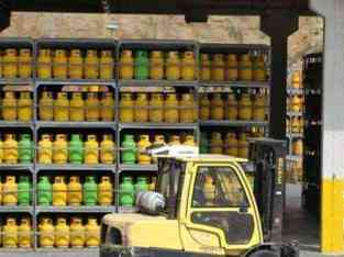 Gas cylinder distribution services for sale in Dubai