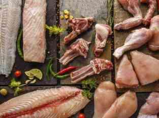 Продавница за риби во Дубаи