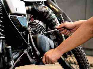 Motorcycle Repairing Center for Sale in Dubai