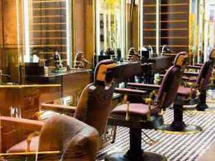 Gent salon for lease in Dubai