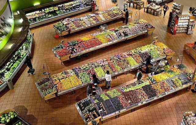 Fresh Fruits Vegetables supermarket for sale in Dubai