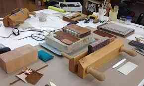 Leather binding workshop business for sale in Dubai