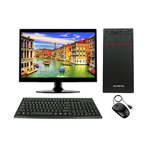 Gandiva® Economical 15.6-inch All in One CI3 Desktop Computer(Core I3 1st Gen/4GB/320GB HDD/Windows 10 (Trial Version)) MS Office(Trial Version) & Antivirus(Free Version)