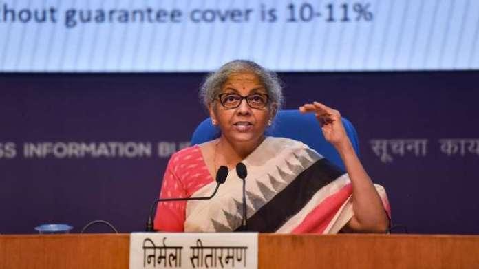 Atmanirbhar Bharat Rozgar Yojana, Nirmala Sitharaman