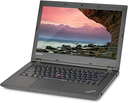 (Renewed) Lenovo Intel 4th Gen Core i5 4200M 14-Inch (35.56 cms) 720p HD Ready Laptop (4 GB/320 GB/Windows 10 Pro/Intel HD Graphics 4600/Black/2.26 Kg), Thinkpad L440