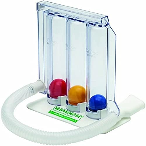 Respirometer 3 ball Lung Exerciser Respiratory exerciser/Spirometer For Breathing exercise equipement at home