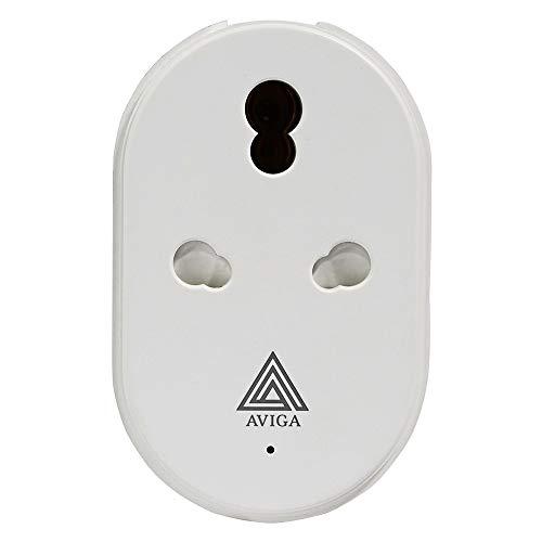 Aviga WiFi Smart Plug 16 Amp   Alexa & Google Home Compatible   with Energy Monitor for High Power Appliances