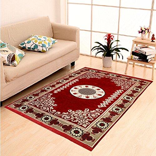 DAILZ Ethnic Velvet Touch Abstract Chenille Carpet - 55