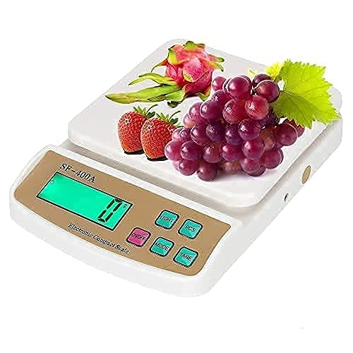 G T Digital Weight Scale Home and Kitchen Use with LCD Display For Measurement of Fruit Vegetables