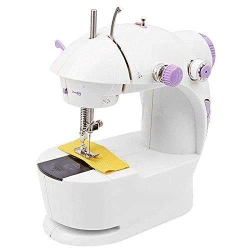 Smart Fashion Multi Electric Mini 4 in 1 Desktop Functional Household Sewing Machine, Mini Sewing Machine for Home, Sewing Machine for Home Tailoring