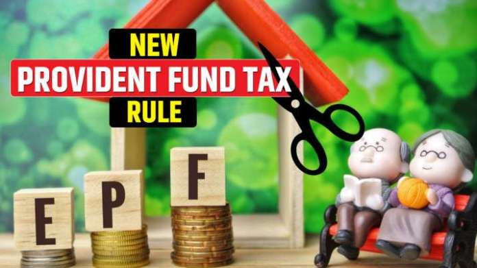 Pf account taxable, provident fund income tax rule