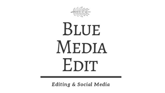 Blue media edit makes up one of Carly's portfolio careers