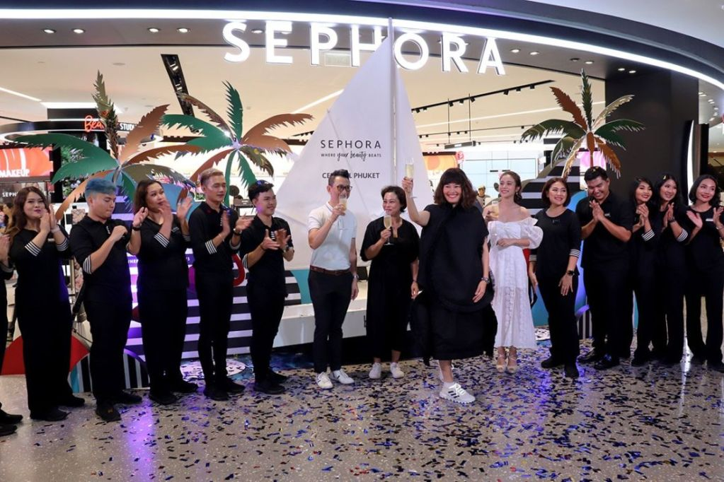 Sephora brings new beauty experience at Central Phuket