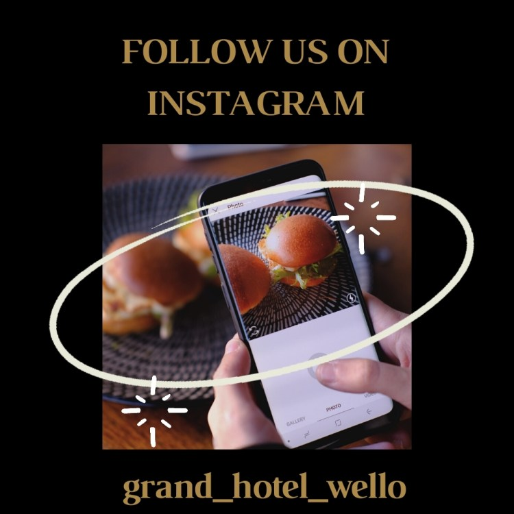 Instagram template for Hotel