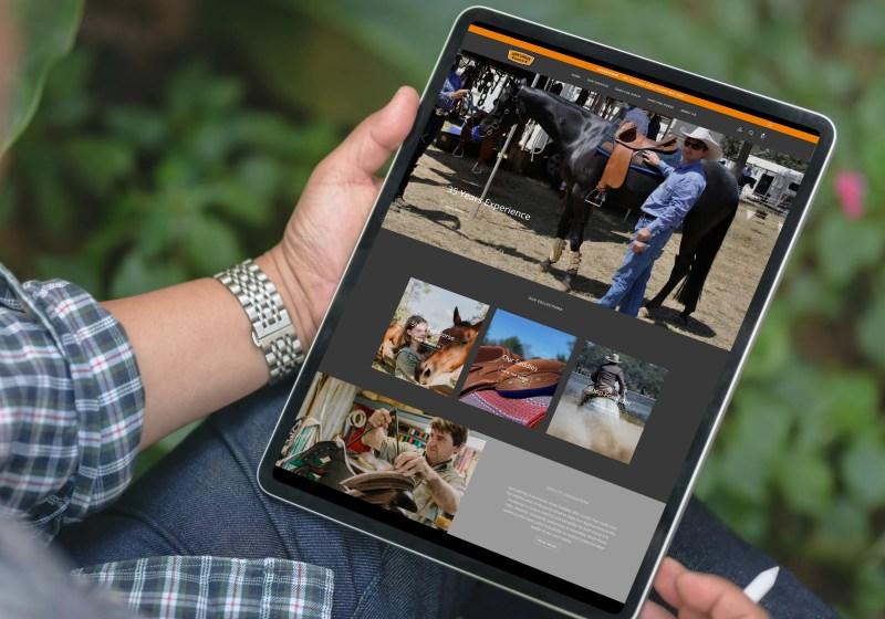 John Lordan Saddles new website