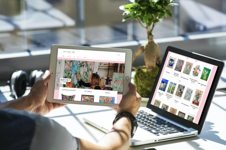 Website designer Dubbo for shops